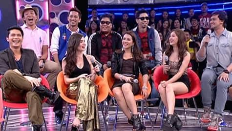 Nakaka-miss! Balikan ang mga bukingan at kulitan ng pinakaunang hosts ng It's Showtime sa GGV Image Thumbnail