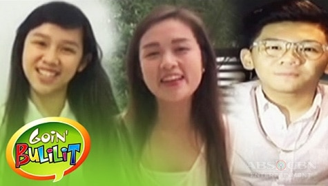 First batch of 'Goin' Bulilit' celebrates 12th Anniversary of the show Image Thumbnail