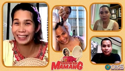 """WATCH: Galit na Misis, Kinalbo si Mister sa """"Harapan Kay Mamang"""" - Online Kapamilya Shows Image Thumbnail"""