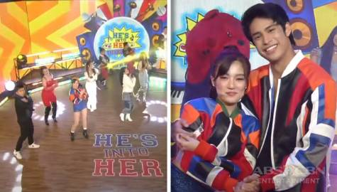 He's Into Her casts' kilig-filled opening number Thumbnail