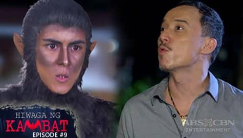 Hiwaga Ng Kambat: Iking, kinompronta ang kasamaan ni Zandro   Episode 9 Image Thumbnail