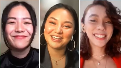 Ritz, Hasna, Brenna share valuable takeaways in making Hoy Love You, take on fun Bukingan Challenge