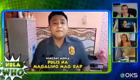 Luis, nakausap ang isang pulis na nagviral noon! | Hula Who Thumbnail