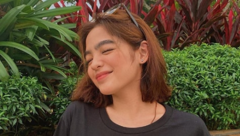 "Andrea Brillantes scans playlist as she ""sings the situation"" Image Thumbnail"
