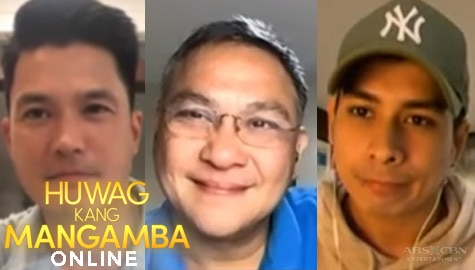 Diether Ocampo, Paolo Gumabao and Nonie Buencamino | HKM The Live Gap Show Image Thumbnail