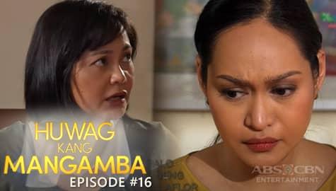 Huwag Kang Mangamba: Agatha at Deborah, nakaramdam ng takot sa lumutang na kalansay | Episode 16 Thumbnail