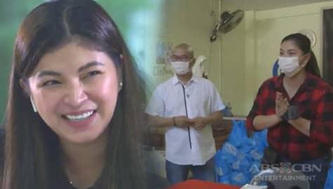 Iba 'Yan: Angel Locsin, binisita ang mga homeless na kinupkop ng Kalinga Center  Image Thumbnail