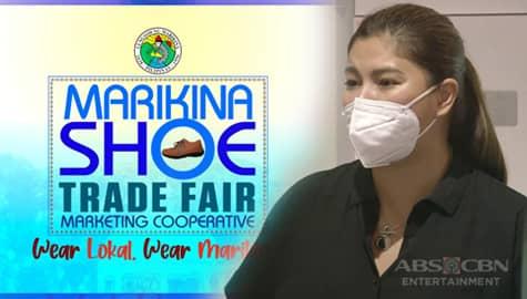 Iba 'Yan: Angel Locsin, ineenganyo ang mga Pilipino na tangkilikin at suportahan ang industriya ng mga sapatos sa Marikina Image Thumbnail