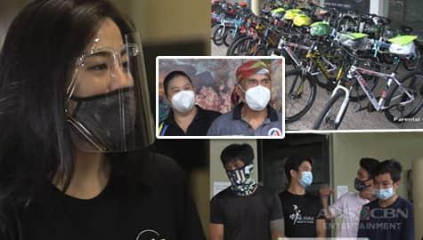 Iba 'Yan: Gretchen Ho, naghandog ng mga bisikleta para sa mga miyembro ng Stunt Association of the Philippines Image Thumbnail