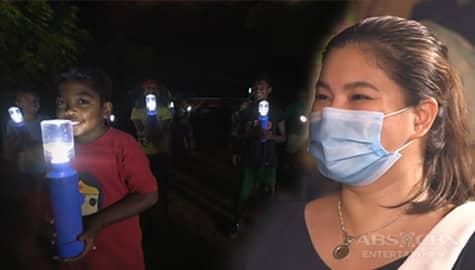 """Iba 'Yan Team, naghandog ng """"liter of light"""" para mabigyan ng liwanag ang mga tahanan ng katutubong Dumagat Image Thumbnail"""