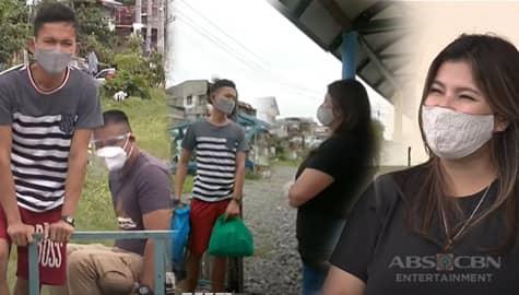 Iba 'Yan: Angel, naghandog ng pang-noche buena kay Luis na isang trolley boy sa Maynila Image Thumbnail