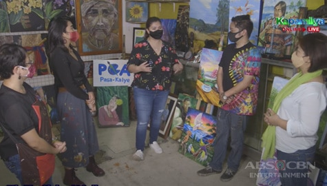Angel Locsin and Team Iba 'Yan pledge to buy P100,000 worth of artworks from Pasa-Kalye Group of Artists Image Thumbnail