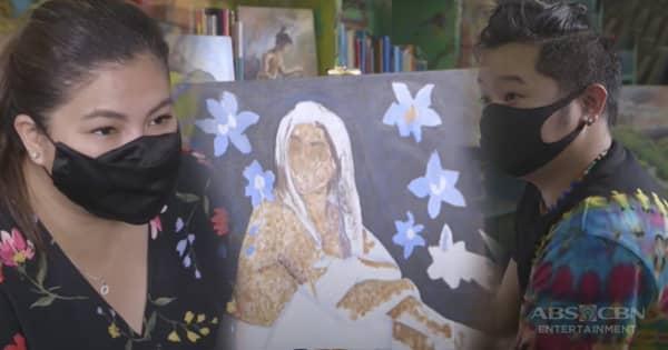Iba 'Yan: Ifugao artist na si Jherwin, patuloy na isinusulong ang kanilang kultura gamit ang kanyang sining