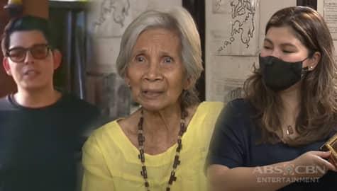 Angel, sinorpresa si Lola Piding ng isang video message mula sa kanyang idolo na si Richard Gutierrez | Iba 'Yan Image Thumbnail