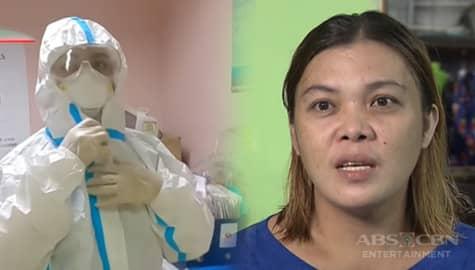 Nursing attendant na si Kate, labis ang lungkot tuwing nakikita ang paghihirap ng mga pasyente sa COVID ward | Iba 'Yan Image Thumbnail
