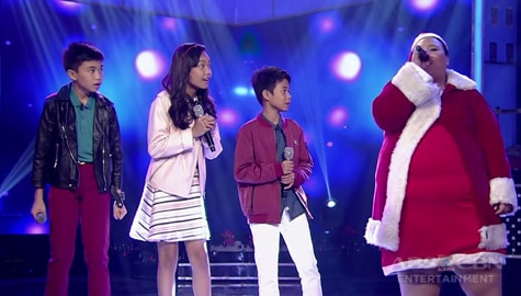 I Can See Your Voice: The Voice Kids Season 4, naka-duet si Foreign Legazpi Image Thumbnail