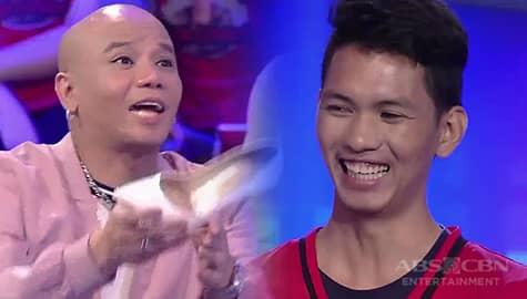 I Can See Your Voice: Wacky Kiray, nagbigay ng sapatos kay Jeffrey Ferrer  Image Thumbnail