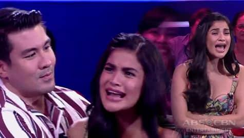 """""""Niloloko niya ako eh!"""" Anne, may sinabi sa Singvestigators sa I Can See Your Voice Image Thumbnail"""