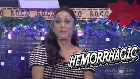 Kaladkaren, ipinaliwanag ang kahulugan ng salitang 'Hemorrhagic' | I Can See Your Voice Image Thumbnail