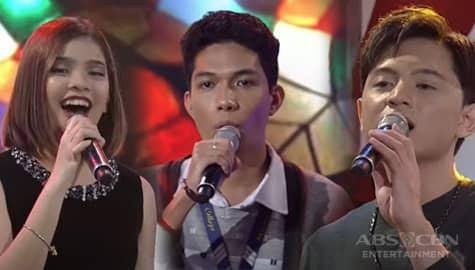 Paolo Sagana, nagkaroon ng pagkakataon na maka-duet si Elha at Jeremy | I Can See Your Voice Image Thumbnail
