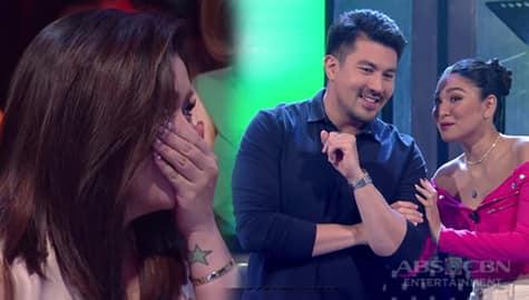 I Can See Your Voice: Angge, may ibinulong kay Nadine bago sumalang! Image Thumbnail