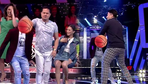 I Can see Your Voice: Bayani at Luis, ginawang basketball ball ang ulo ni Wacky Kiray Image Thumbnail
