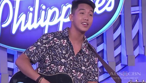 WATCH: Arnel Pineda's son Angelo auditions for Idol Philippines Image Thumbnail