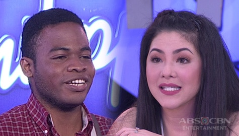 """WATCH: Luke Baylon serenades Judges with reggae rendition of """"If I Ain't Got You"""" 