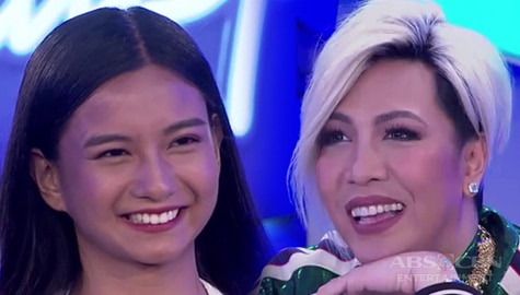 Idol Philippines 2019 Auditions: Vice, kinabahan nang makita sa audition ni Krisha Image Thumbnail