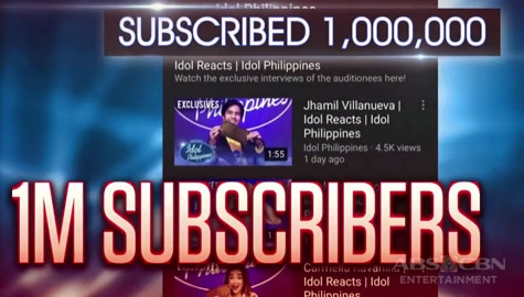 Idol Philippines 2019: Thank you 1 Million Subscribers! Image Thumbnail