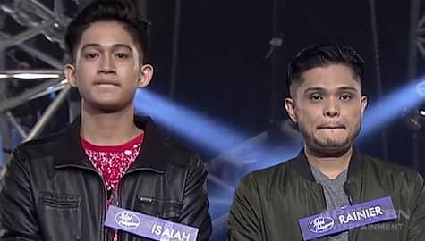 Idol Philippines 2019: Isaiah at Rainier, pasok na sa susunod na round Image Thumbnail