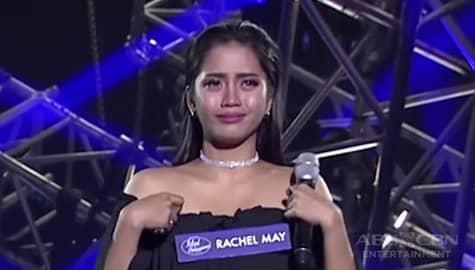 Idol Philippines 2019: Rachel, naging emosyonal matapos ang kanyang performance Image Thumbnail