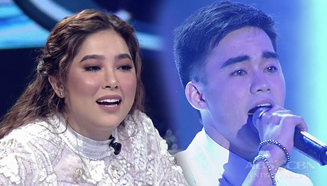 """Live Round: Lucas Garcia owns the stage with stunning """"Sometime, Somewhere"""" cover 
