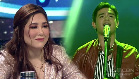 """Live Round: Dan Ombao stuns Judges with his """"Kung Di Rin Lang Ikaw"""" performance 