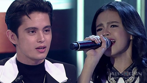 """Live Round: Zephanie Dimaranan gets standing ovation with Sarah Geronimo's """"Isa Pang Araw"""" 