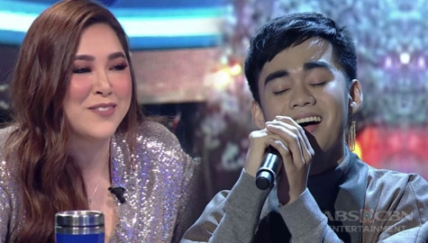 """Live Round: Lucas Garcia touches Judges' heart with his """"Tagpuan"""" performance 