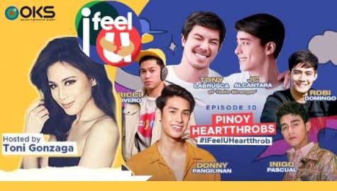 I Feel U Episode 10: Donny Pangilinan, Inigo Pascual, Robi Domingo, Ricci Rivero, Tony Labrusca & JC Alcantara Image Thumbnail