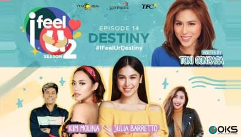 I Feel U Episode 14: Julia & Dani Barretto, Kim Molina & Jerald Napoles Image Thumbnail