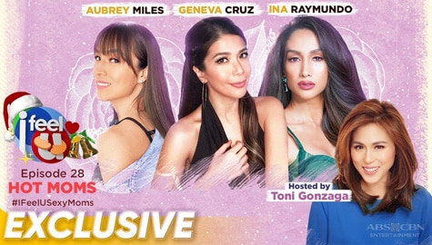I Feel U Episode 28: Aubrey Miles, Geneva Cruz and Ina Raymundo Image Thumbnail