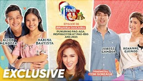 I Feel U Episode 36: Love teams KarJon and JoRox Image Thumbnail