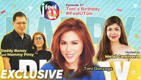 I Feel U Episode 37: Toni Gonzaga's Birthday Celebration Image Thumbnail