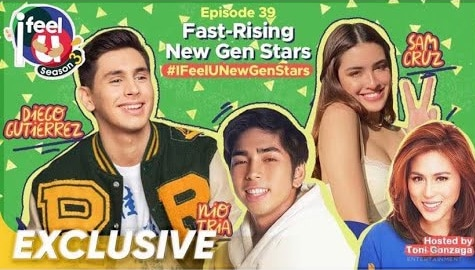 I Feel U Episode 39: Fast-rising new gen stars Diego Gutierrez, Sam Cruz and Nio Tria