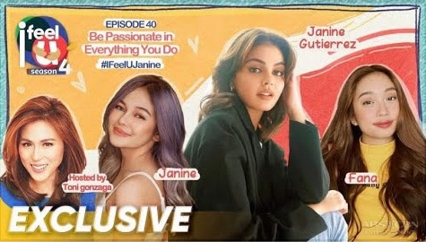 I Feel U Episode 40: Janine Gutierrez and Janine Berdin talk about their passion