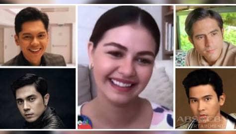 I Feel U: Janine, inisa-isa ang gusto niyang maging leading man sa Kapamilya network Image Thumbnail