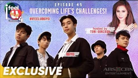 I Feel U Episode 45: BGYO on overcoming life's challenges Image Thumbnail