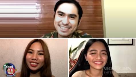 """I Feel U: CJ, Vivoree at Lie, ikinuwento ang mga discoveries nila habang nagte-taping ng """"Your Face Sounds Familiar"""" Image Thumbnail"""