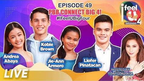 I Feel U Episode 49: The PBB Connect Big 4 Image Thumbnail