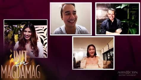 Gerald, Yam, and JM on heaping praises, playing relatable characters for Init sa Magdamag    Image Thumbnail