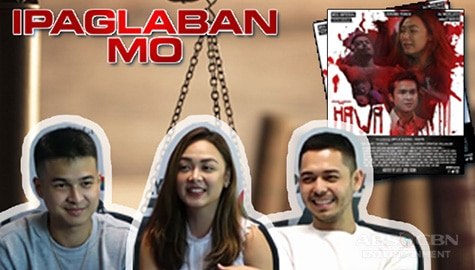 "Meg, Jerome and AJ talk about their roles in Ipaglaban Mo ""Hawa"" Image Thumbnail"