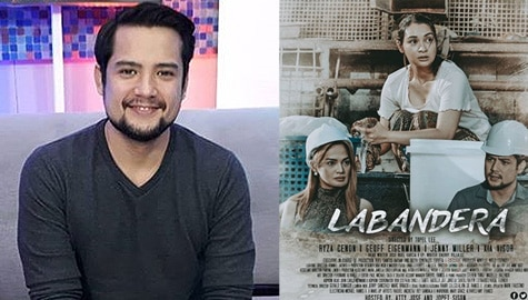 "Geoff Eigenmann on working with Ryza Cenon in Ipaglaban Mo ""Labandera"" Image Thumbnail"